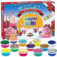 Ylovetoys Advent Calendar 2020 Christmas Countdown Calendar 24PCS for Kids Surprise Gift for Boys and Girls