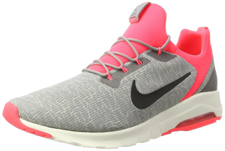 Nike Herren Air Max Motion Racer Sneaker  44.5 EU Grau (Dust/Black-cobblestone-solar Red-sail)