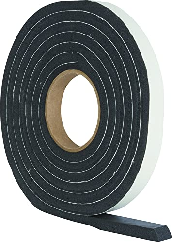 5M Black Door Seal Excluding Seal Draught Self Adhesive Rubber Roll Foam XS