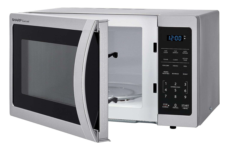 Sharp Microwaves ZSMC0912BS Sharp 900W Countertop Microwave Oven Reviews