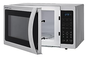 Amazon.com: Horno microondas Sharp ZSMC0912BS de 900W ...