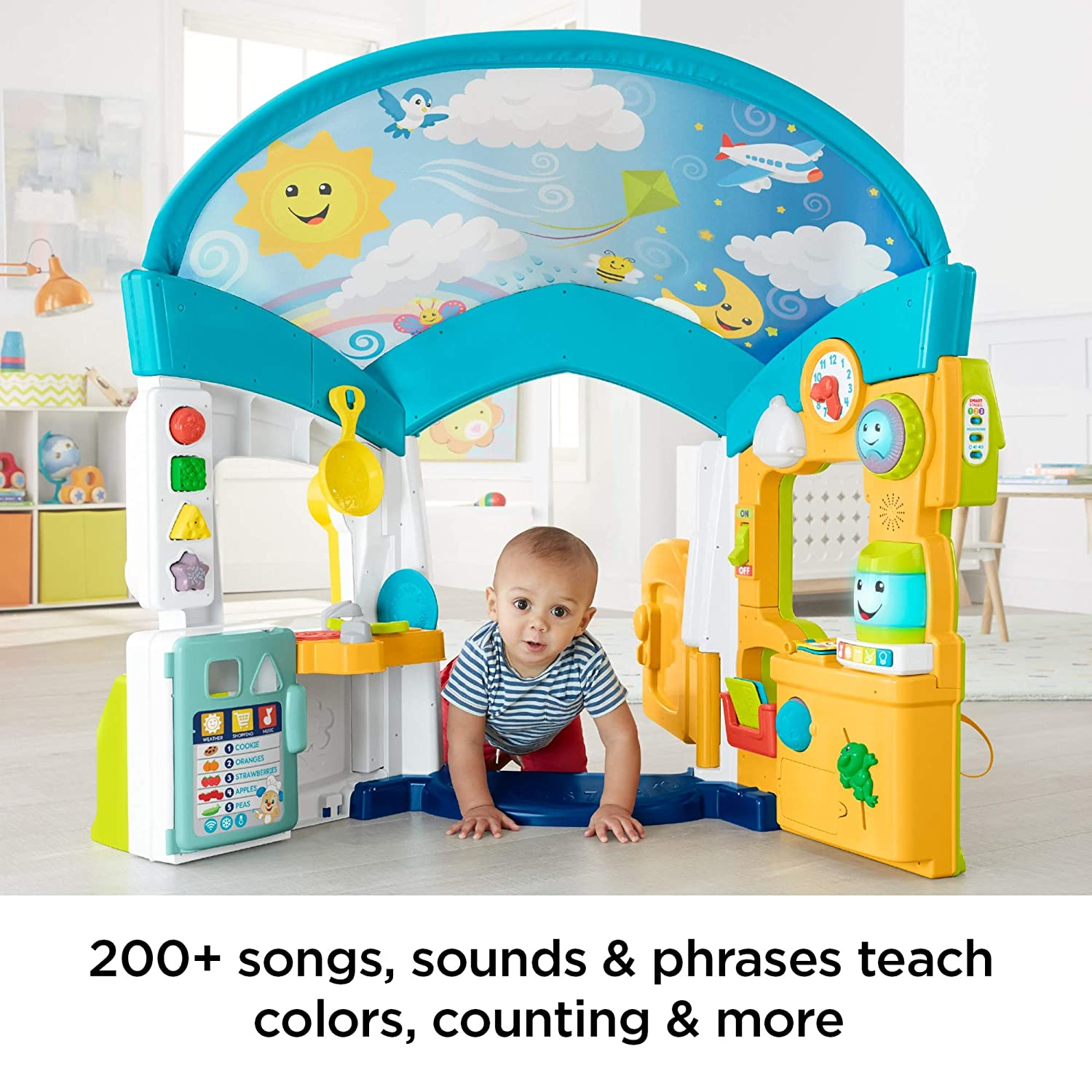 Amazon.com: Fisher-Price Laugh & Learn Smart Learning Home: Toys & Games