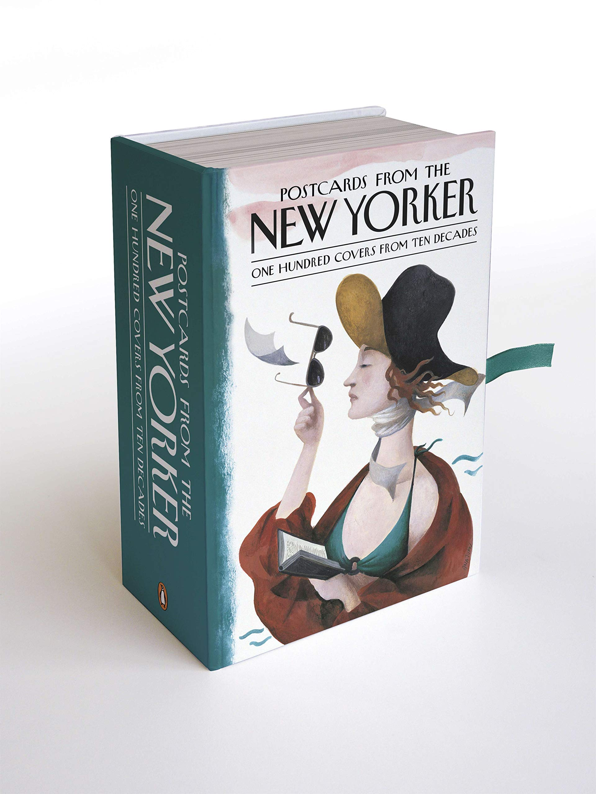 Postcards From The New Yorker One Hundred Covers From Ten Decades Amazon De Mouly Francoise Fremdsprachige Bucher