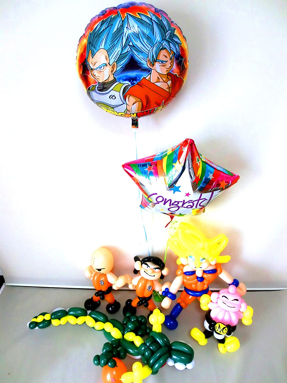 スーパーサイヤ人ドラゴンボールお祝 バルーン&バルーンアート   B073CCF3GN