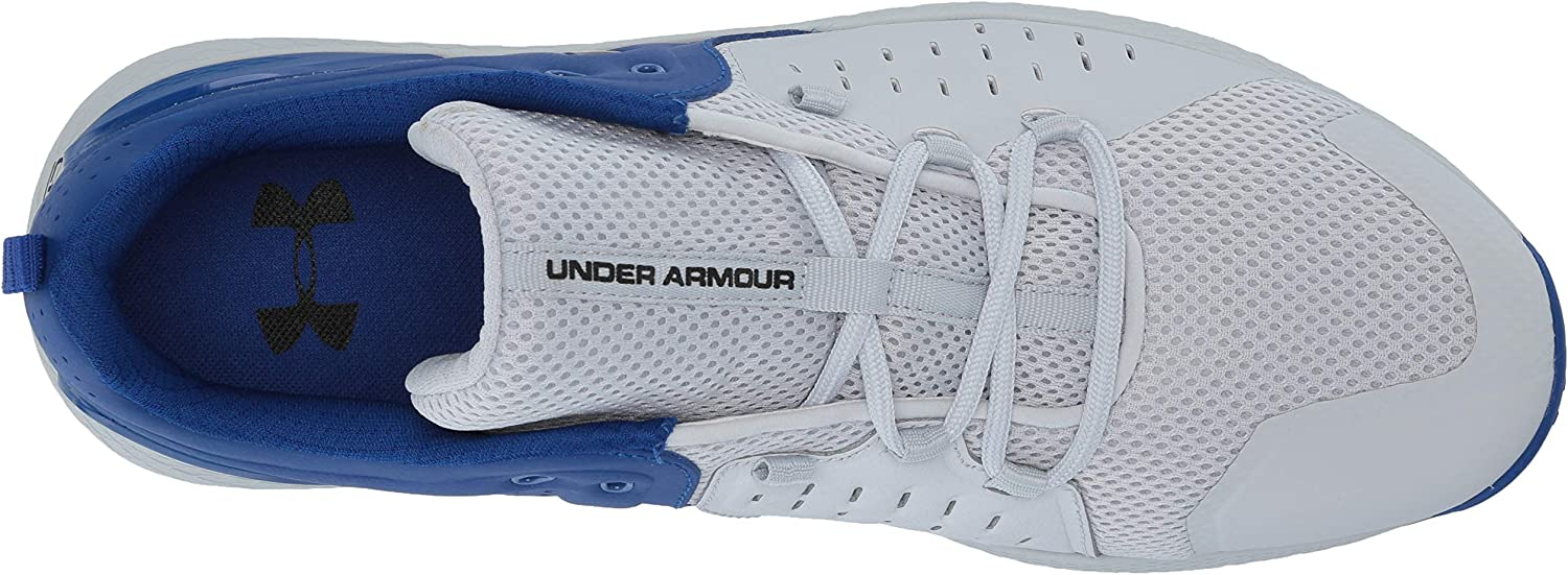 Men/'s Under Armour UA Charged Commit 2 Training Halo Gray//Black 3022027-101 US 9
