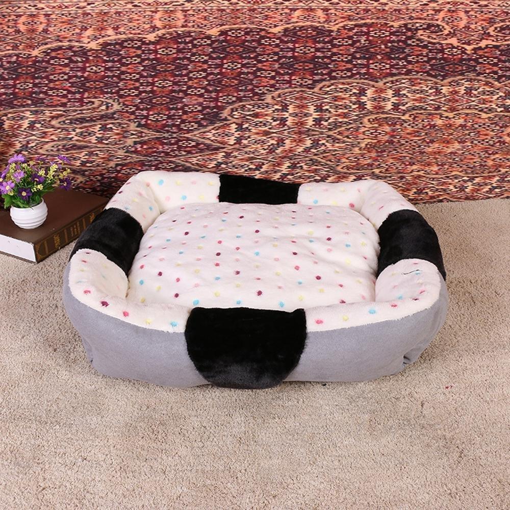 434312cm BiuTeFang Pet Bolster Dog Bed Comfort Warm Home method Plush pet mat comfort pet nest removable and washable