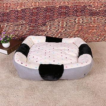 Weiwei Cama de Perro Cálido hogar método Peluche Mascota Confort Mat Mascotas Nido Desmontable y Lavable: Amazon.es: Productos para mascotas