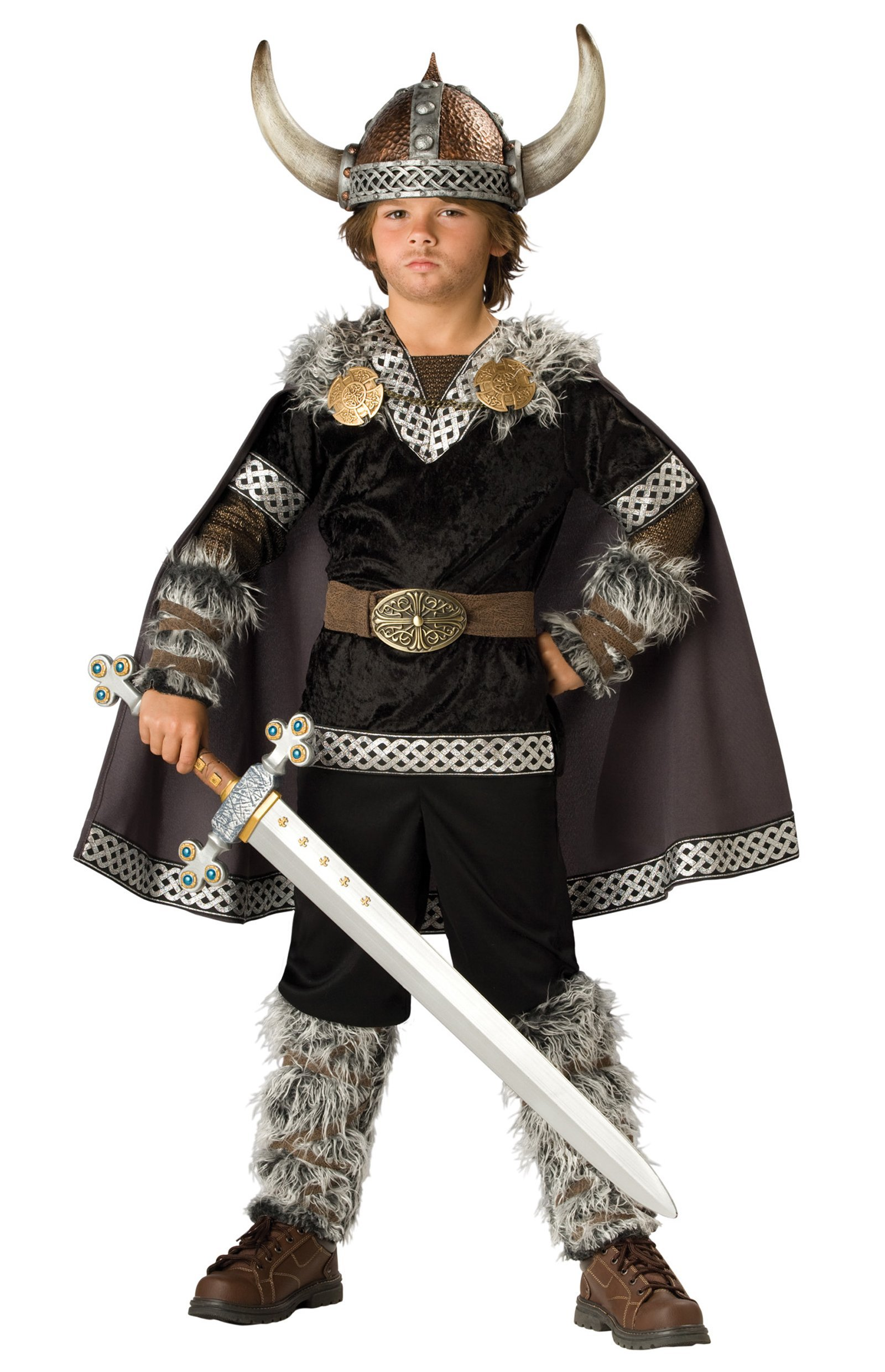 Viking Warrior Child Costume - Large