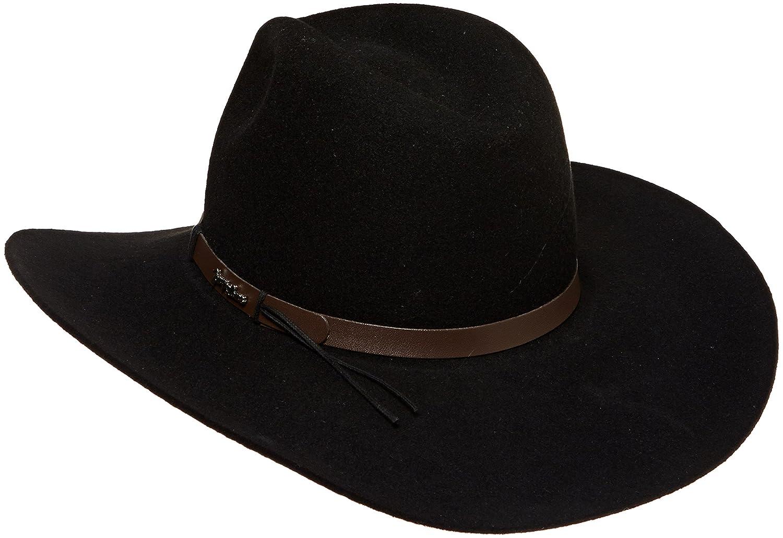 92e3cd6da903c Tony Lama Men s Tracker-3X Black with Band 50 Wool Blend Cowboy Hat at  Amazon Men s Clothing store