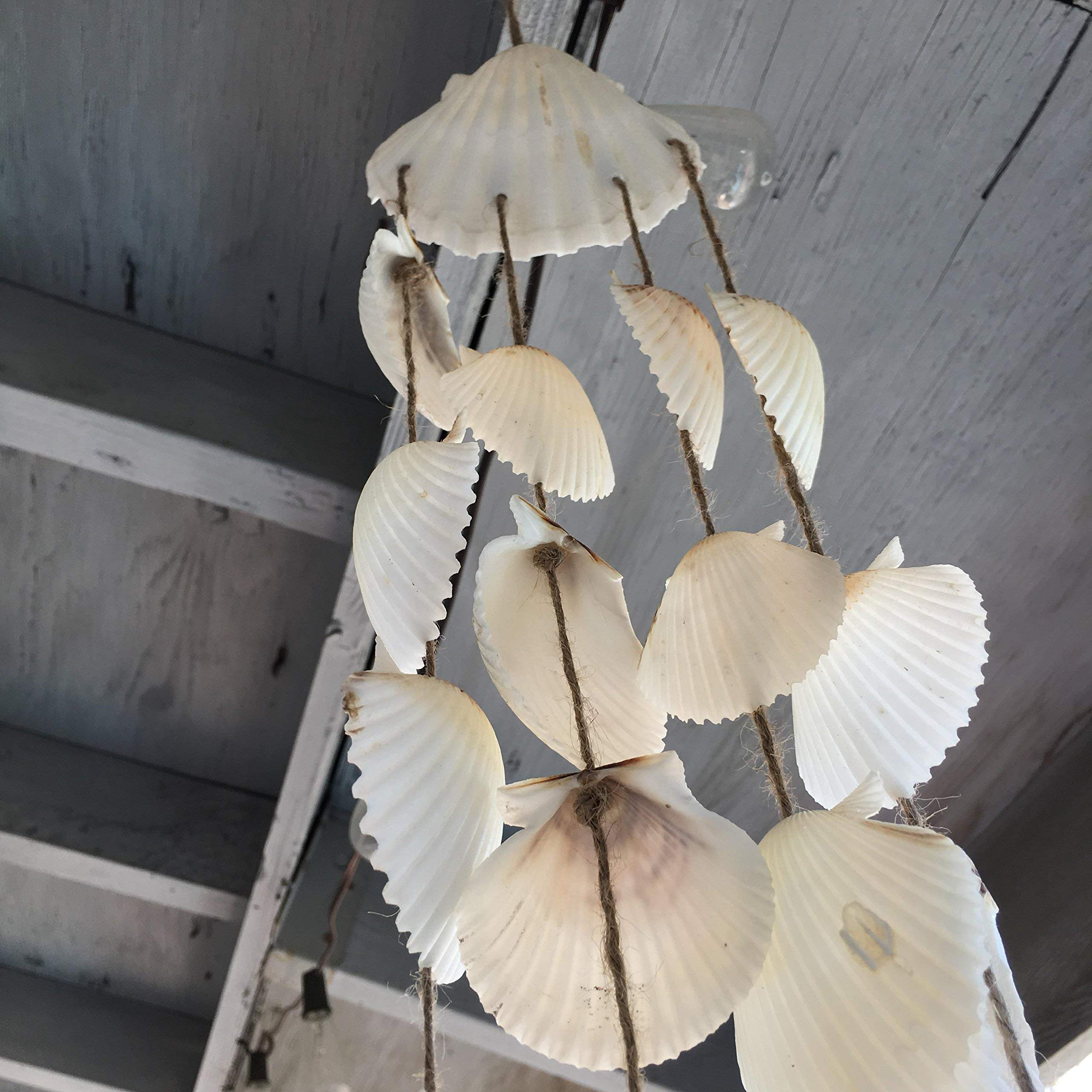 White Seashell Beach Wind Chime