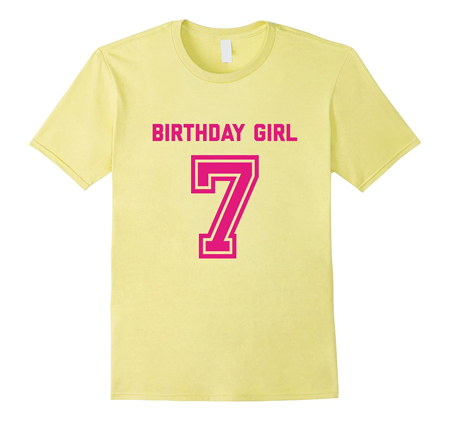 7th Birthday Shirt Gift Age 7 Year Old