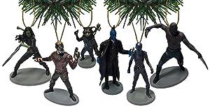 Disney/Marvel Guardians Of The Galaxy Vol. 2 Ornament Set of 6