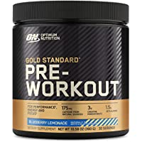 Optimum Nutrition Gold Standard Pre-Workout, Vitamin D for Immune Support, with Creatine, Beta-Alanine, and Caffeine for…