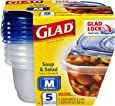 COX60796 - Glad GladWare Soup and Salad Food Container w/Lid