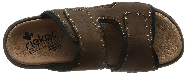 ff1fdf410cc19 Rieker Men's 25559 Mules: Amazon.co.uk: Shoes & Bags