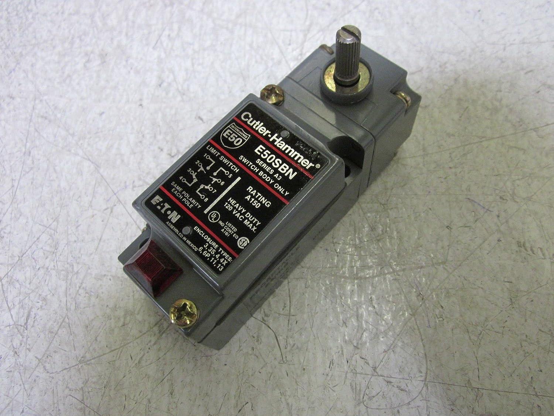 CUTLER HAMMER E50SBN SER  A3LIMIT SWITCH W/ E50DR SER A1