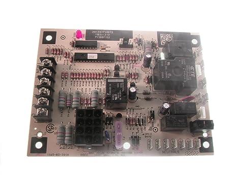 amazon com goodman pcbbf112s control board home improvement rh amazon com Trane Thermostat Wiring Color Code Goodman Air Handler Wiring Diagrams