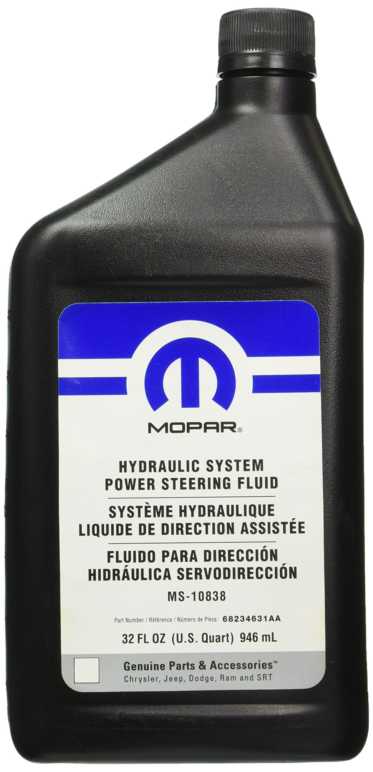 Genuine Chrysler (68234631AA) Power Steering Fluid