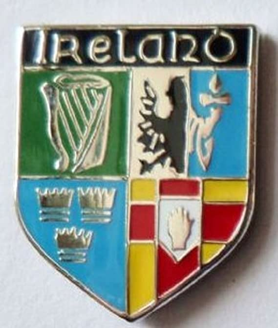 ULSTER IRELAND QUALITY ENAMEL LAPEL PIN BADGE