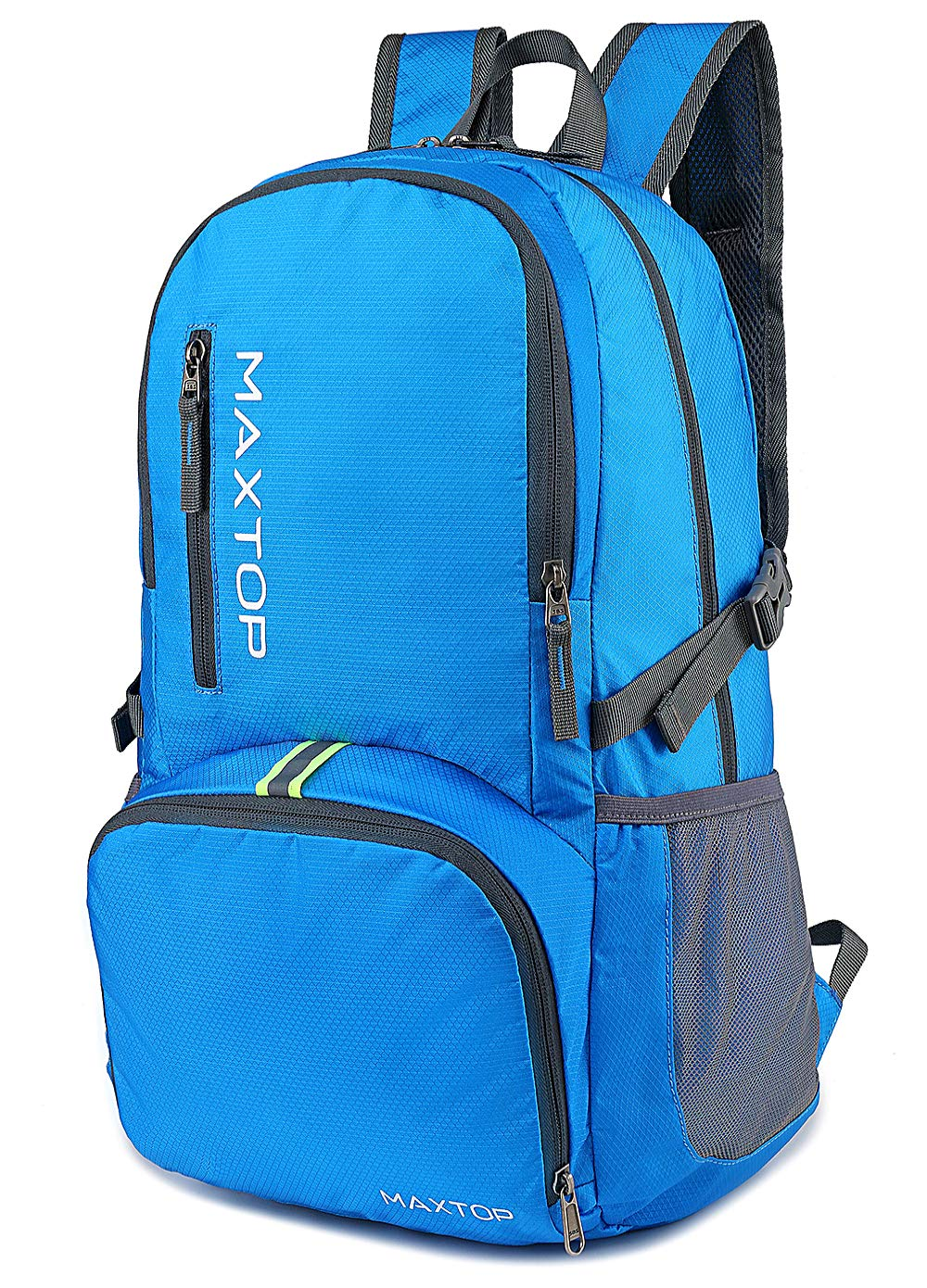 MAXTOP Ultra Lightweight Packable Backpack 35L Water Resistant Foldable Hiking Travel Daypack Durable
