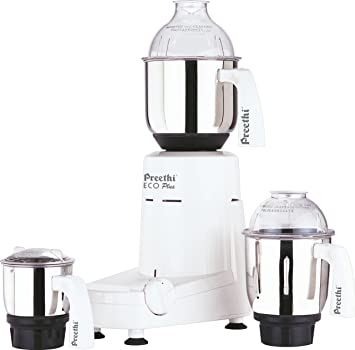 Amazon Com Preethi Eco Plus Mixer Grinder Kitchen Dining
