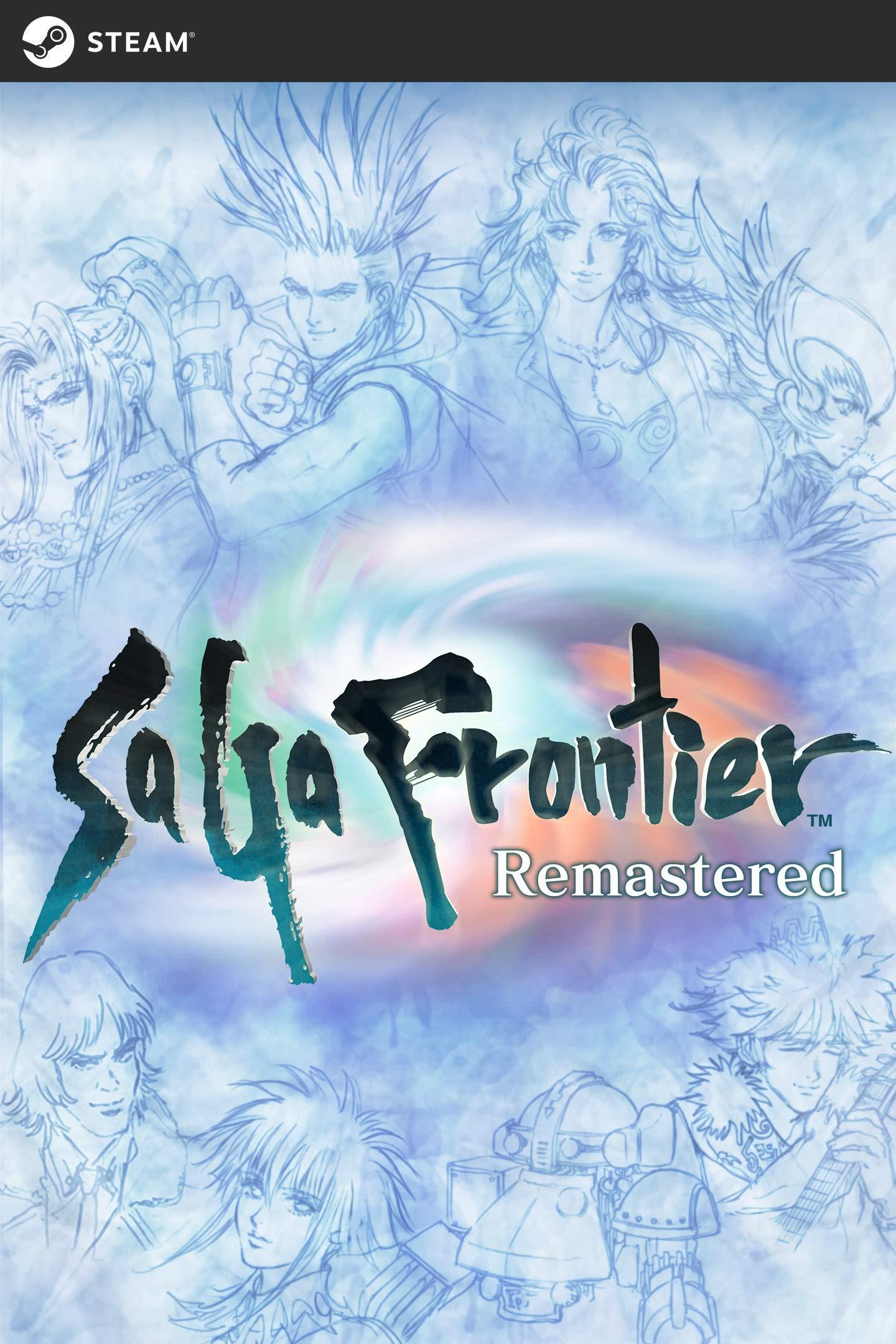 Poster. SaGa Frontier Remastered