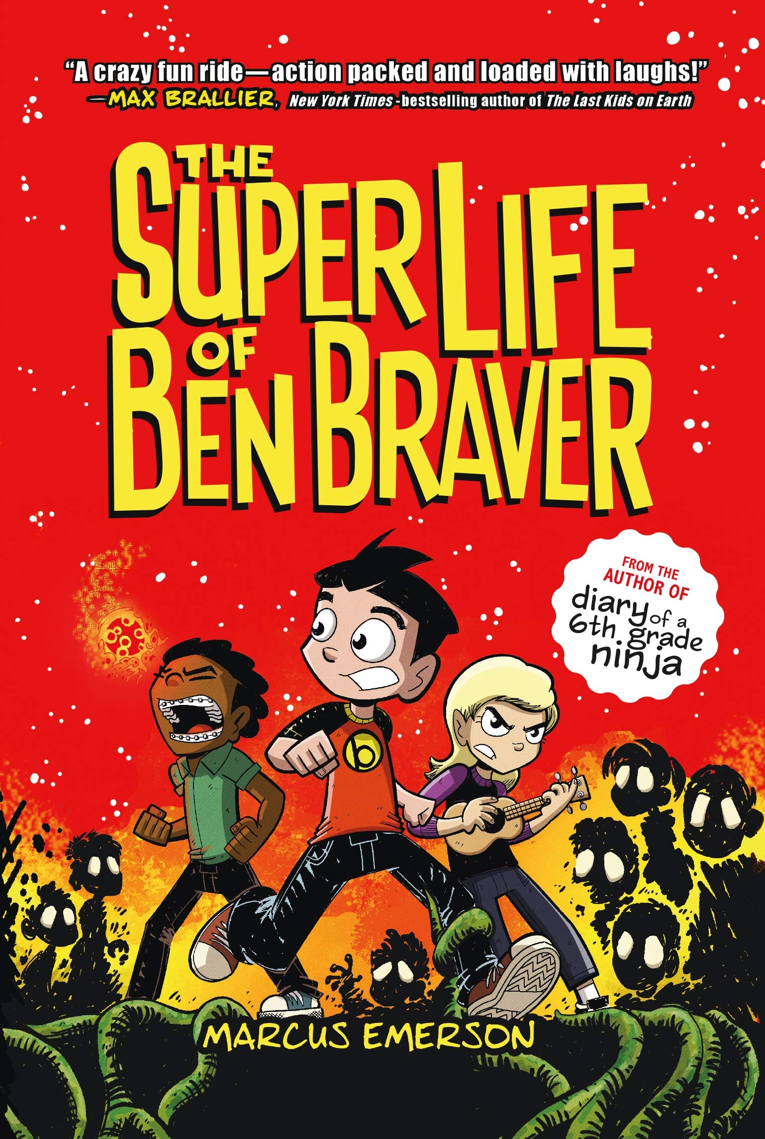 SUPER LIFE OF BEN BRAVER: Amazon.es: MARCUS EMERSON: Libros ...