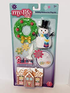 My Life As Holiday Decoration Play Set - 7 Pcs