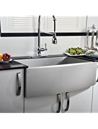 comllen 33 inch farmhouse kitchen sink 304 stainless steel single bowls 16 gauge 10 inch deep