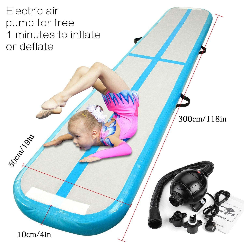 Esterilla inflable para ejercicios de gimnasia, esterilla de ...