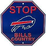 "NFL Buffalo Bills Stop Sign, 12"" x 12"