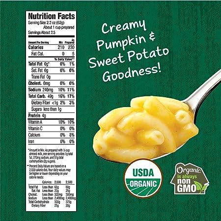 Amazon.com : Annie\'s Organic Vegan Gluten-Free Elbows & Creamy Sauce ...