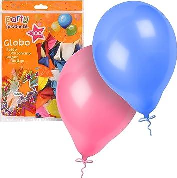 Party- Pack 100 globos, 23 cm, Multicolor (68374) , color/modelo ...