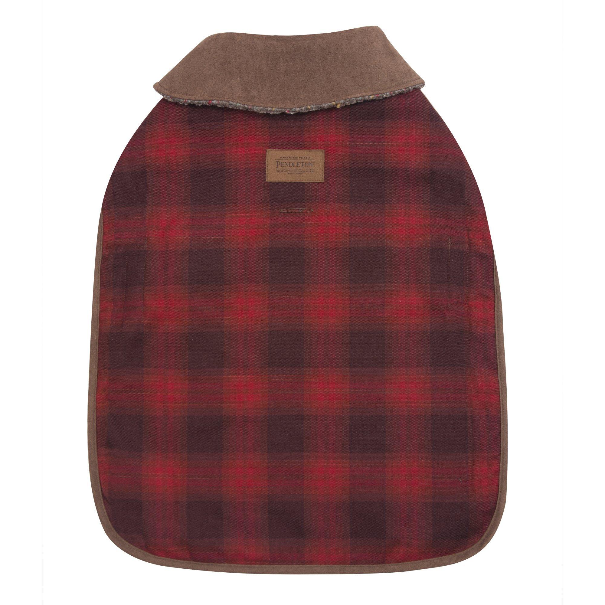 Carolina Pet Pendleton Red Ombre Dog Coat Medium