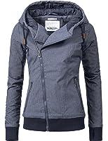 Sublevel Damen Jacke Winterjacke Kapuzenjacke 44308 2 Farben XS-XL