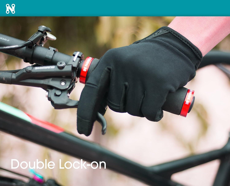 Black Velo Silicon Hand Grip Ergonomic Comfort Commuter Road Bike Handlebar