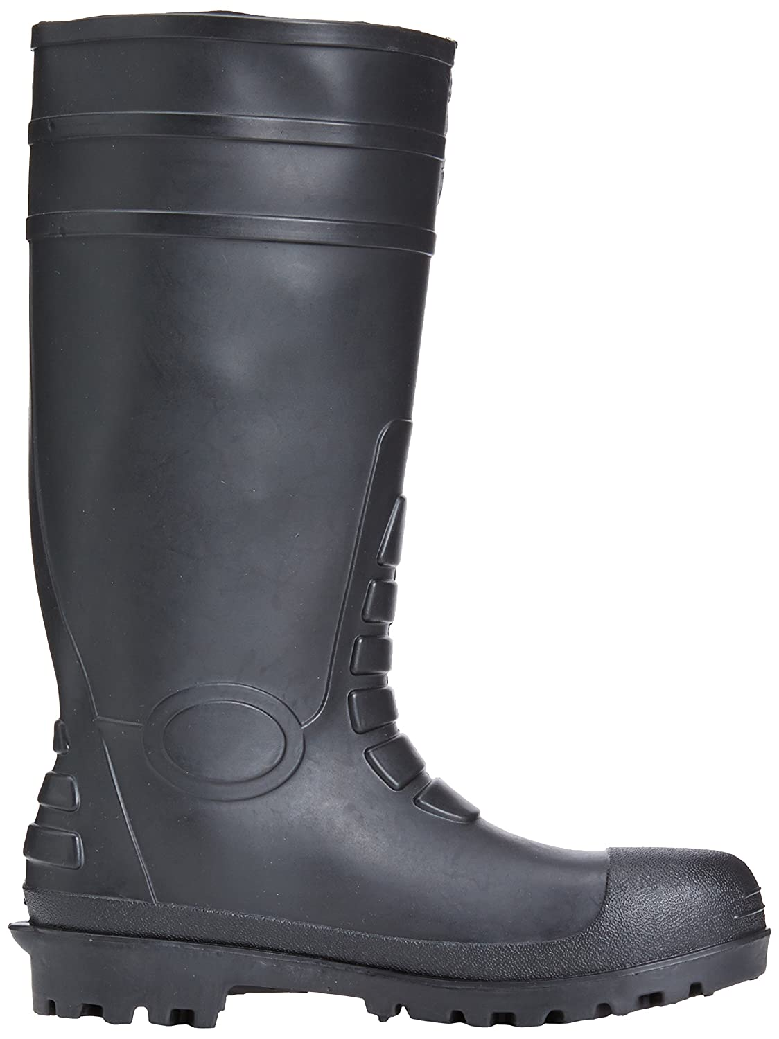 Negro 11 UK Calzado de protecci/ón Steelite Steelite Total Safety Wellington S5