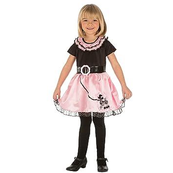 My Other Me Me-204063 Disfraz de señorita para niña, color rosa, 3 ...