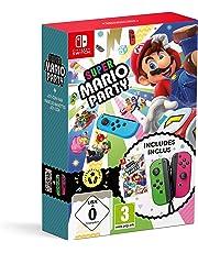 Super Mario Party + Joy-Con - vert néon/rose néon