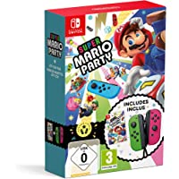 Super Mario Party + Joy-Con - vert néon/rose néon
