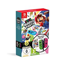 Super Mario Party + Neon Green/ Neon Pink Joy-Con (Nintendo Switch)
