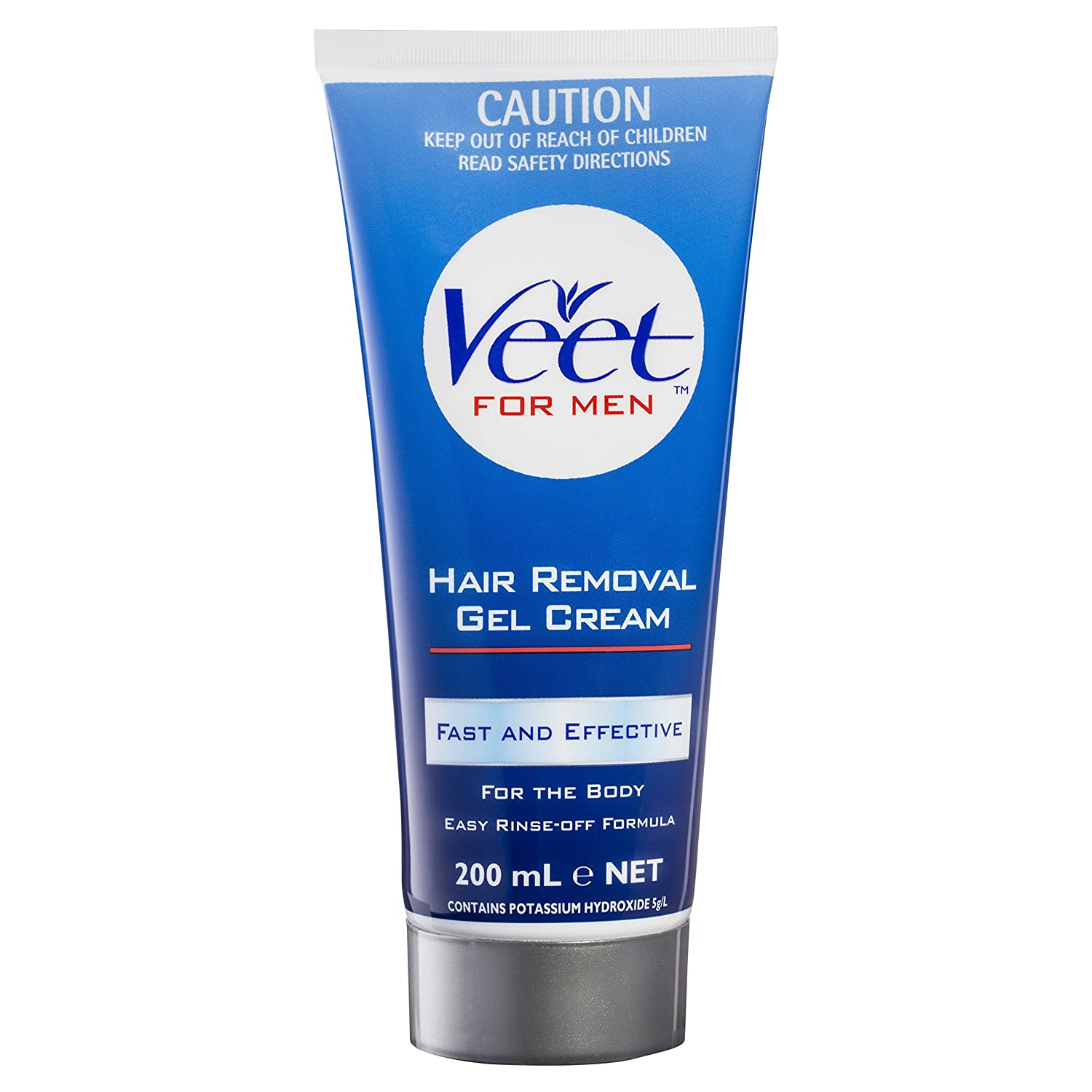 Veet for Men Crema Depilatoria para hombre - Piel normal 200ml: Amazon.es: Salud y cuidado personal