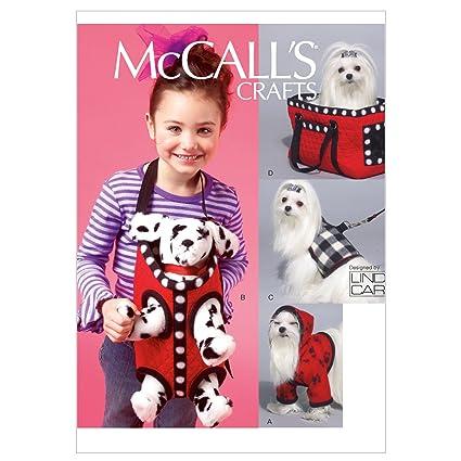 Amazon Mccall Patterns M6621osz Dog Hoodie Harness Leash