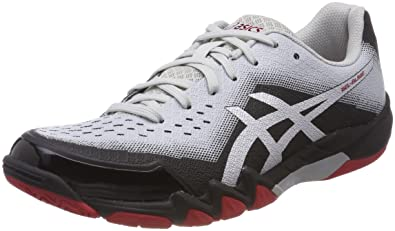 ASICS Men's Gel Blade 6 Squash Shoes Bleu ClairBlancbleu