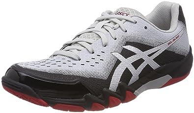 reputable site 3fef4 e5d98 ASICS Gel-Blade 6, Chaussures de Squash Homme, Noir (Black Silver