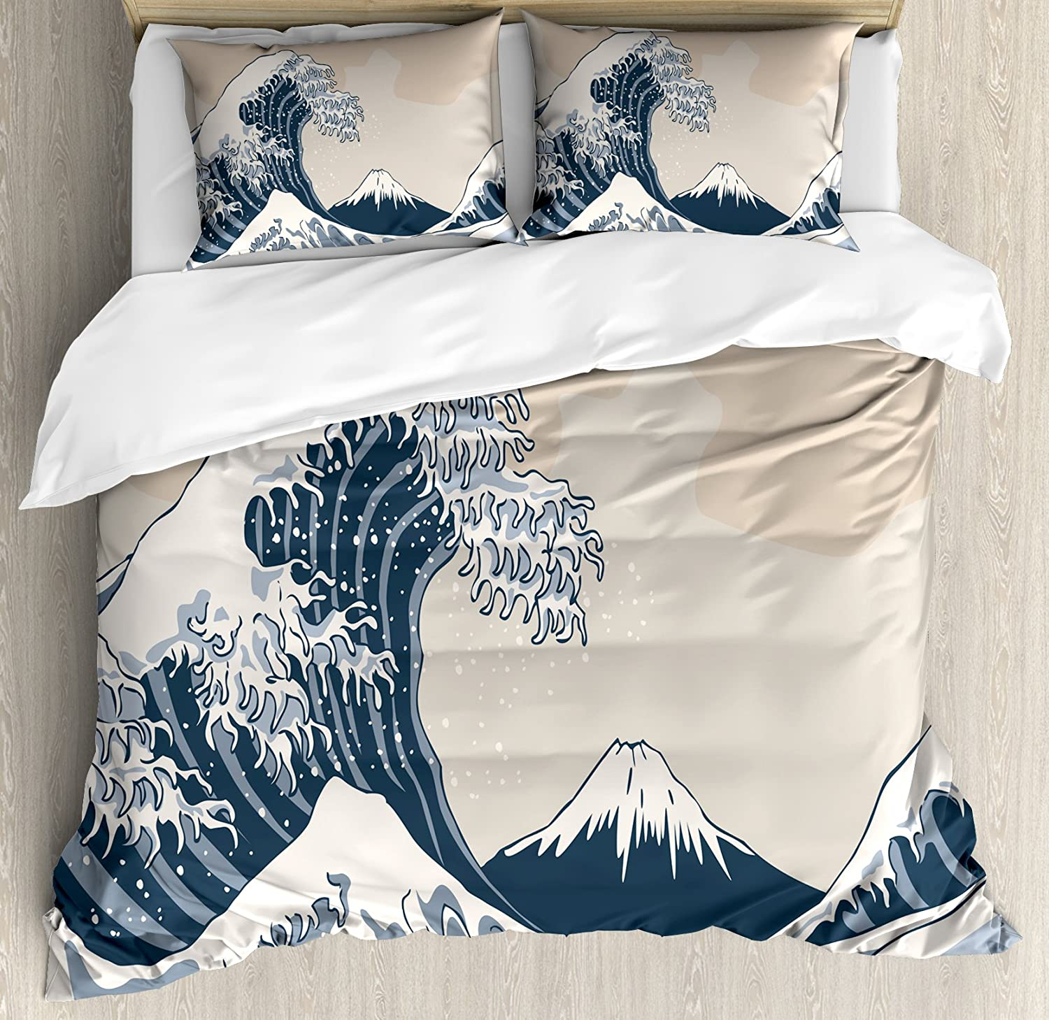Petrol Blue Pale Grey nev/_47110/_queen Marine Theme Digital Image Skull Helm Ocean Inspired Vintage Pattern Lunarable Nautical Duvet Cover Set Queen Size Decorative 3 Piece Bedding Set with 2 Pillow Shams