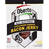 Oberto All Natural Applewood Smoked Bacon Jerky, 2.5-Ounce Bag