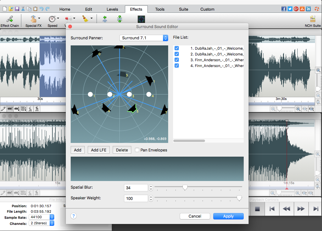 WavePad Free Audio Editor – Create Music and