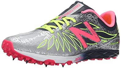 New Balance Women's 700v4 Track Spike Running Shoe, Pink/Black, 5.5 B US