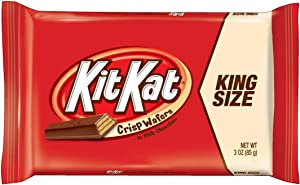 Kit Kat King Size Candy Bar (3 ounce) Box of 24